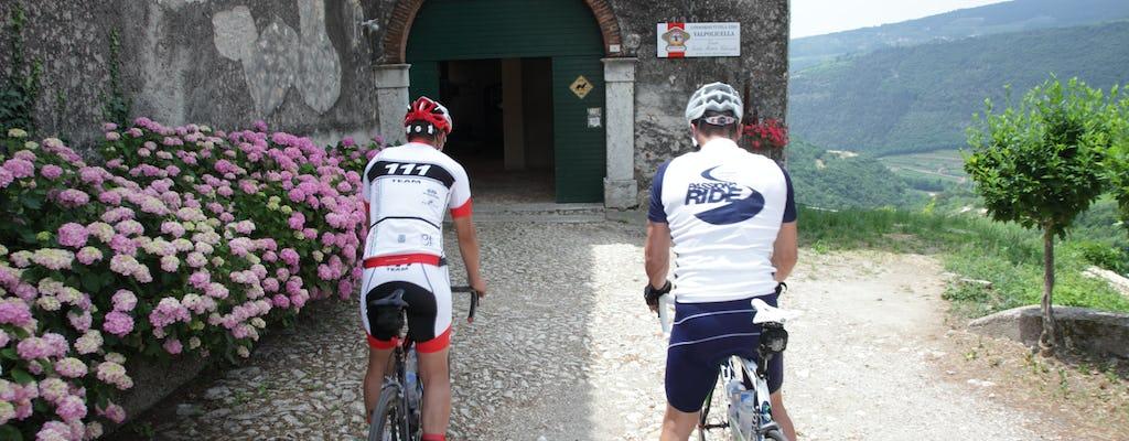 Tour en bicicleta eléctrica Valpolicella con degustación de vinos
