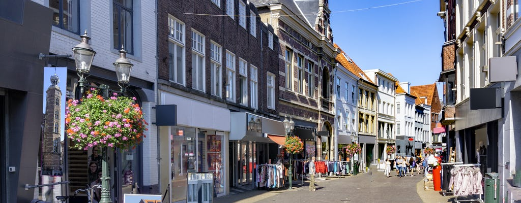 Walking tour in Venlo with a self-guided city trail