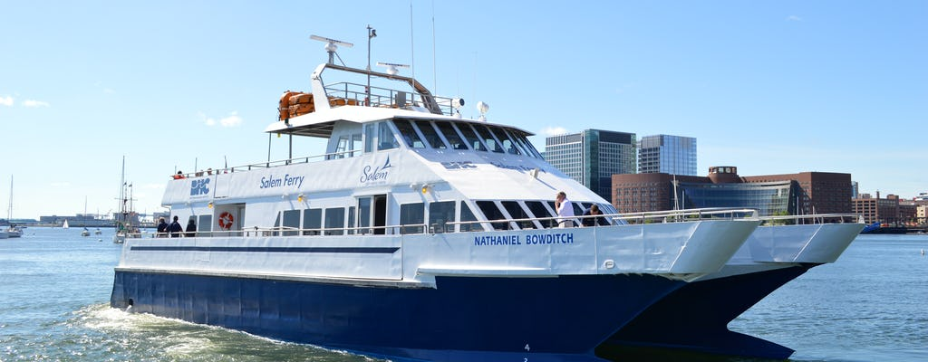 Ferry transfer from Boston to Salem with round trip option