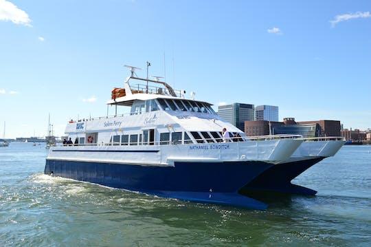 Veerboottransfer van Boston naar Salem met optie voor een retourvlucht