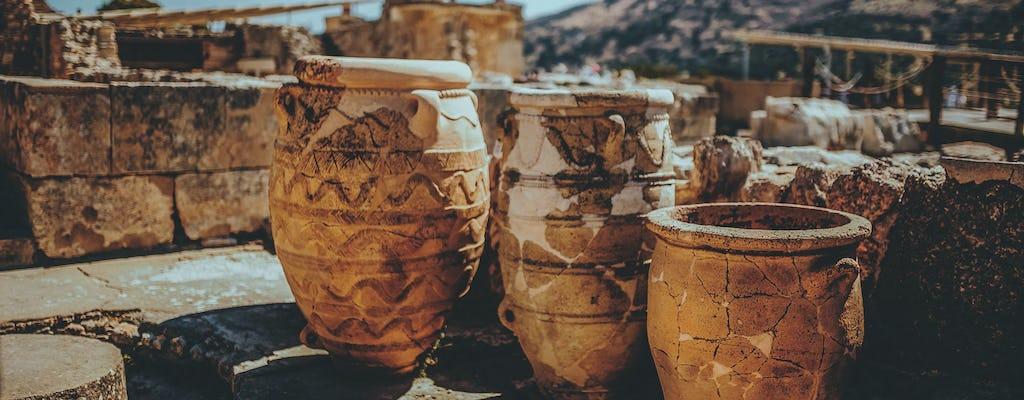 Private Tour durch die Höhle des Zeus und den Knossos-Palast von Chania