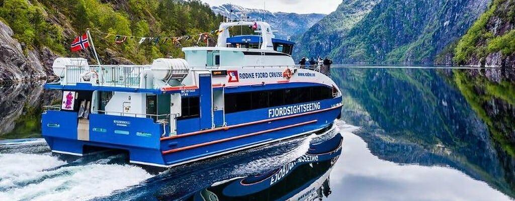 Zwiedzanie Bergen z rejsem po fiordzie Mostraumen i kolejką linową Fløien