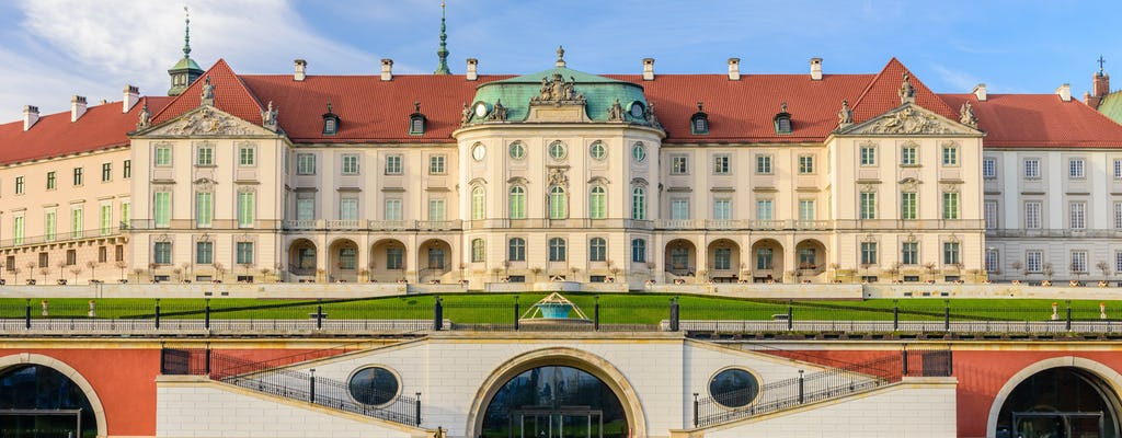 Tour privado de lo más destacado de Varsovia en la Ciudad Vieja y Nueva con entrada al Castillo Real