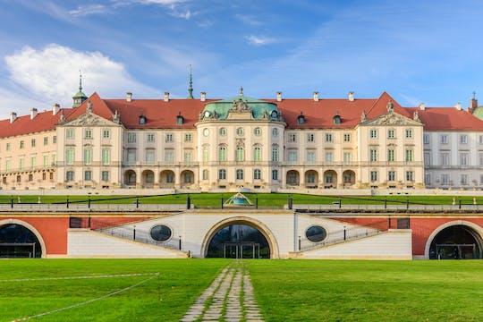 Tour privato delle attrazioni principali di Varsavia nella città vecchia e nuova con il biglietto per il castello reale