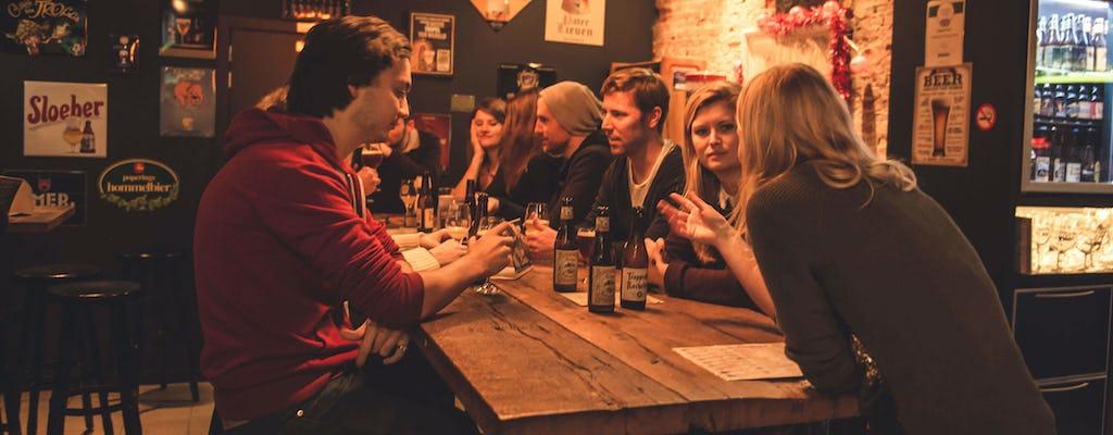 Visite de la bière à Bruges avec les habitants
