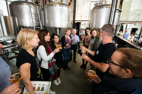 Craft brewery tour in Brussels