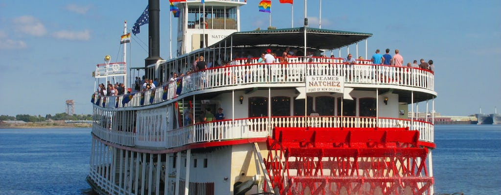 Stoomboot Natchez Harbor Cruise