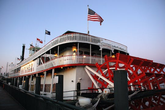 Stoomboot Natchez Jazz Dinner Cruise