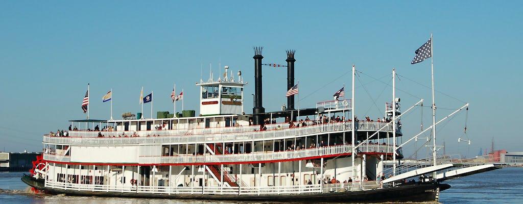 Steamboat Natchez Sunday Jazz Brunch Cruise in New Orleans