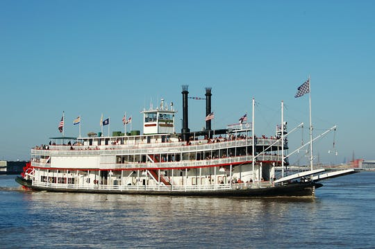Steamboat Natchez Sunday Jazz Brunch Cruise in New Orleans
