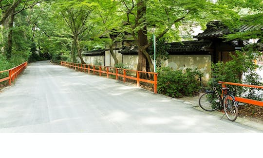 Guided bicycle tour in Kyoto