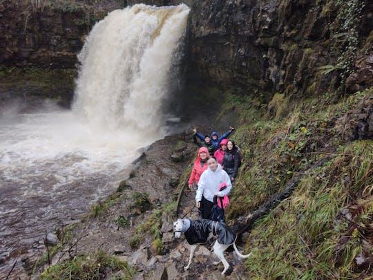 Brecon Beacons Wasserfallspaziergang mit Führer