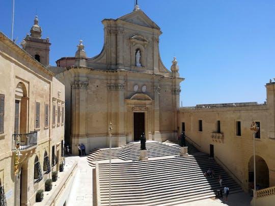 Historische Gozo Tour mit Verkostung und Shopping