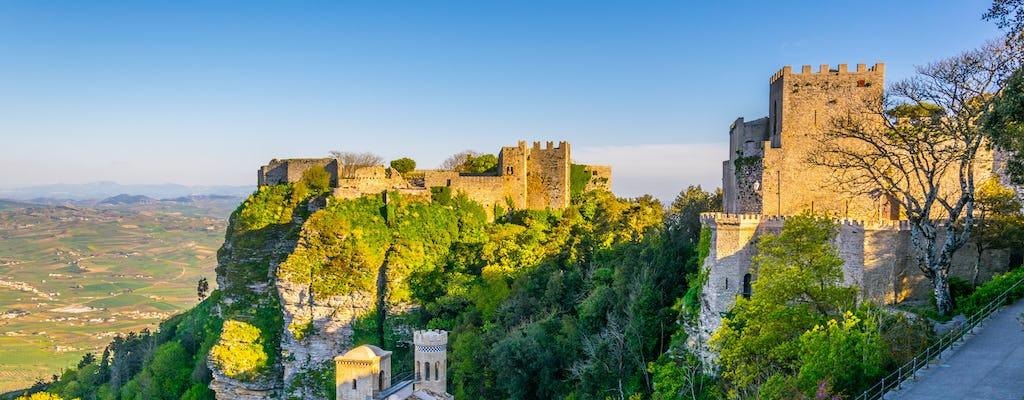 Dagtrip naar Segesta, Erice en zoutpannen vanuit Palermo