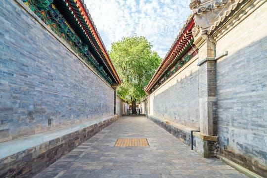 Visite guidée à vélo de Pékin