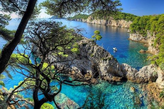 Tour privato in motoscafo da Dubrovnik alle isole Elafiti