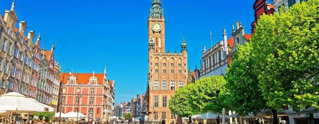 Visite guidée privée des points forts de Gdansk d'une journée avec transport