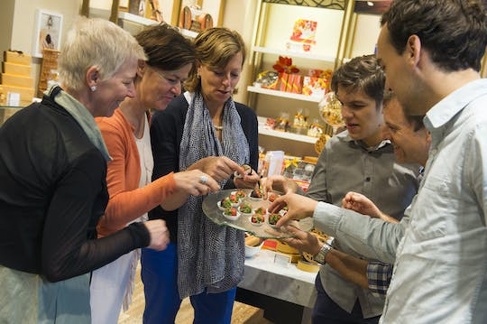 Small-group chocolate tour in Brussels