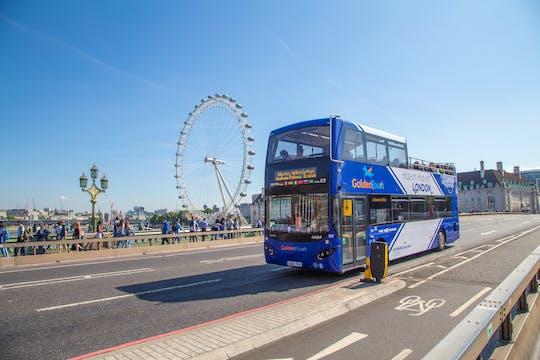 Tour de ônibus aberto em Londres com guia ao vivo