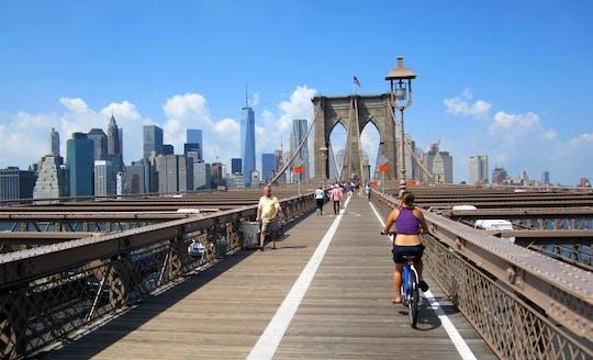 Passeio de bicicleta nas pontes