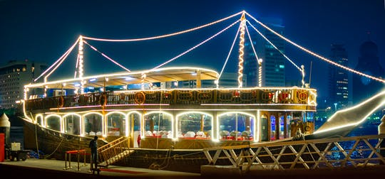 Dhow dinner cruise with transfer from Ajman