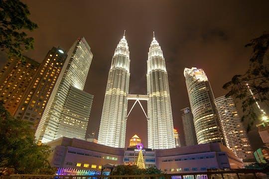 Tour notturno privato Petronas Twin Tower, danza culturale e shopping