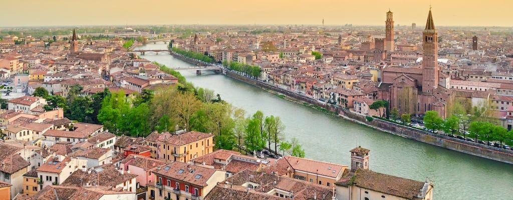 Tour de historia, comida y vino con almuerzo en Verona