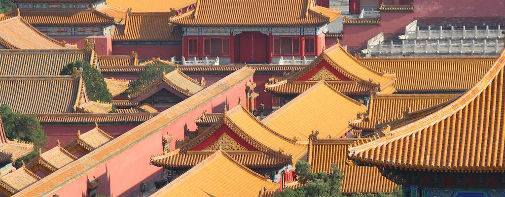Guided walking tour in Beijing with Forbidden City