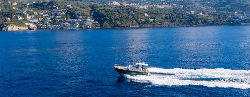 Wycieczka łodzią na Capri z Sorrento