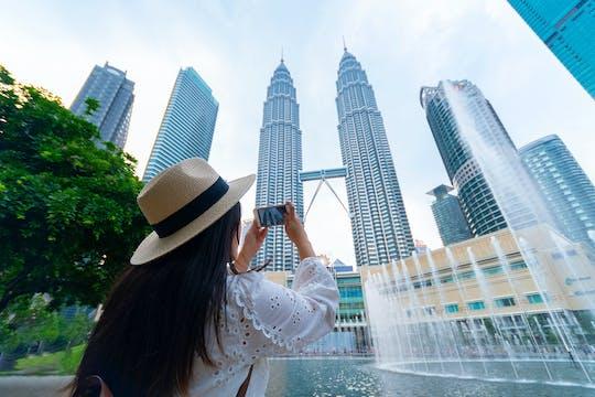 Sla de wachtrij over voor Petronas Twin Tower-ticket met ophalen van het hotel
