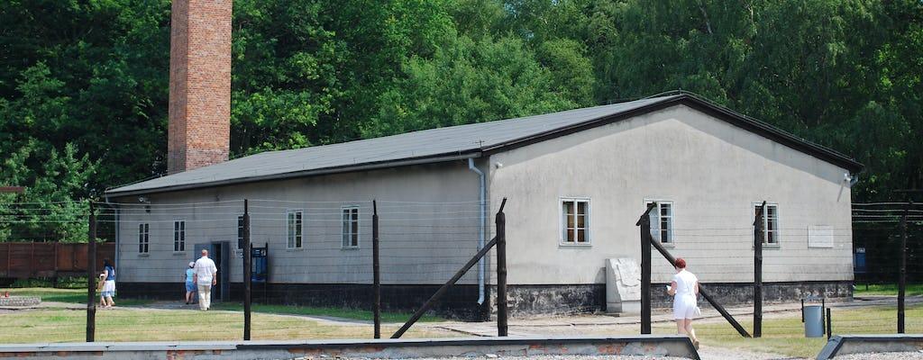 Tour privado del campo de concentración de Stutthof y el casco antiguo con transporte