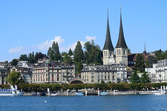 Visite privée à pied de Lucerne