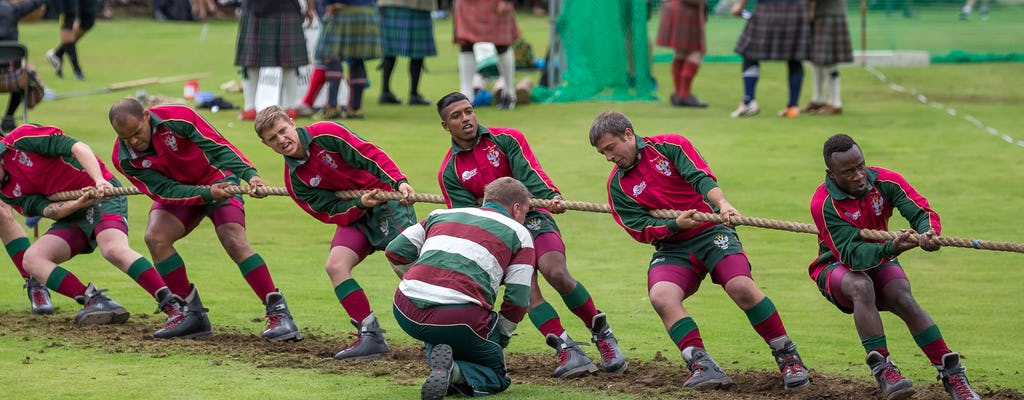Highland Games tour from Edinburgh