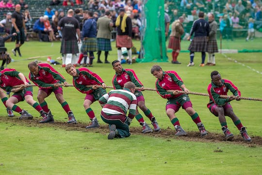 Highland Games-tour vanuit Edinburgh