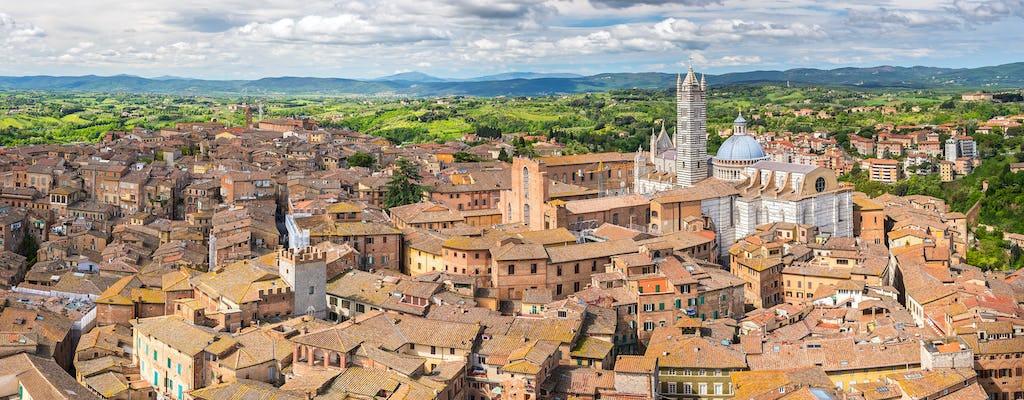 Passeio privado a pé por Siena