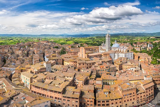 Siena private walking tour