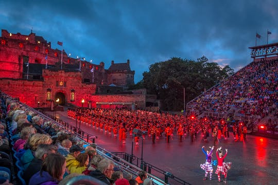Highland day tour with Edinburgh Tattoo admission