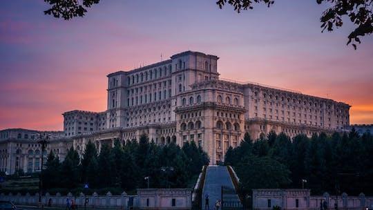 Private city tour of communist Bucharest