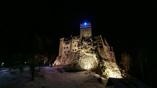 Private Dracula Castle tour by night and Romanian traditional dinner
