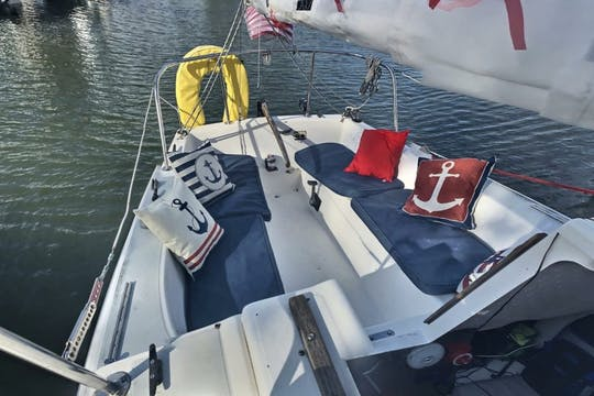 Two-hour private day sail on Lake Fairview in Orlando