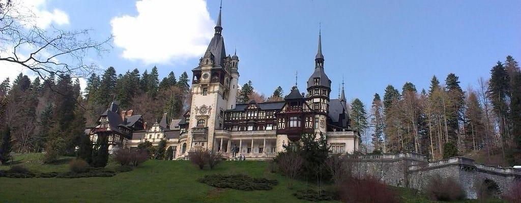 Gita giornaliera privata al castello di Dracula, al castello di Peles e a Brasov da Bucarest