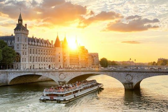 Hop-on hop-off bus tour, Conciergerie and  river cruise tour entrance tickets