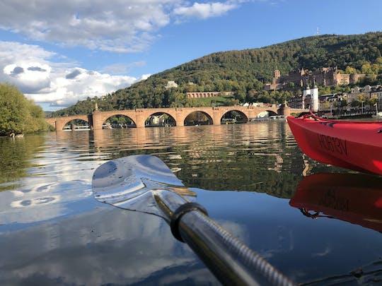 Tour guiado en kayak por el Neckar en Heidelberg