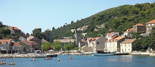 Три острова на лодке с обедом из Дубровника