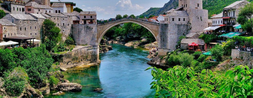 Tour privato di un giorno a Pocitelj ea Mostar da Dubrovnik