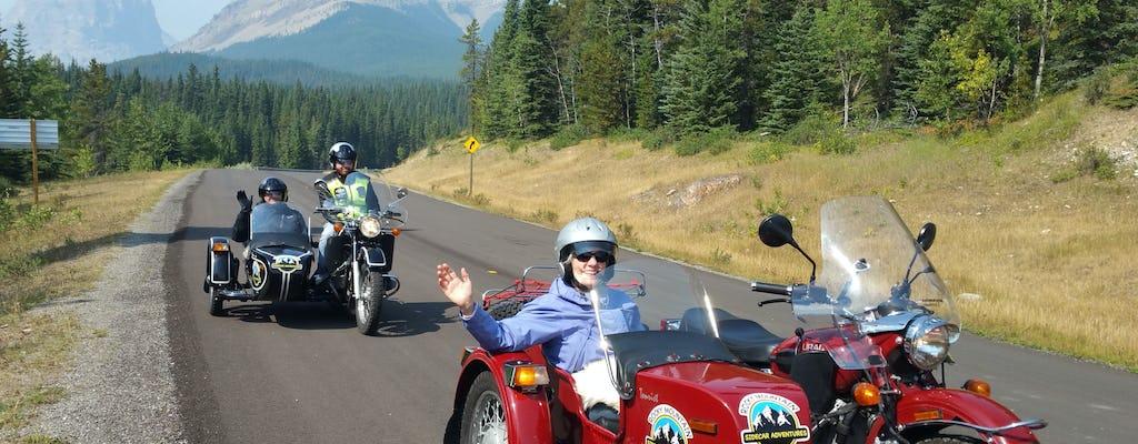 Vintage Beiwagen-Motorradtour nach Kananaskis Country