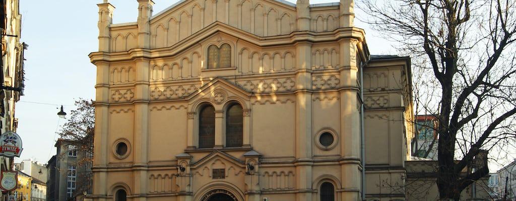 Museu Judaico da Galícia, distrito de Kazimierz e excursão à Sinagoga de Tempel
