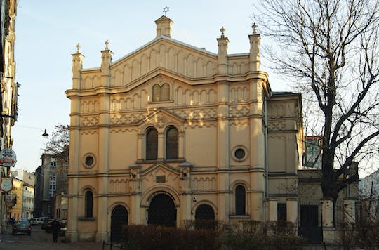 Galicia Joods museum, district Kazimierz en tempelsynagoge