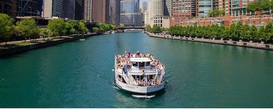 Wendella's 90 minuten durende Chicago River-architectuurtour