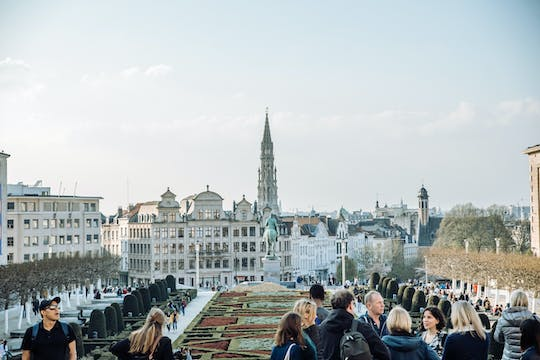 Brussels half-day private walking tour with a local -100% personalized